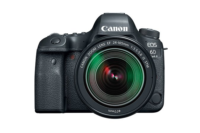Canon EOS 6D MKII EF 24-105mm IS STM Instant Rebate