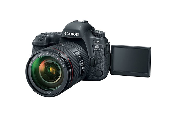 Canon EOS 6D MKII EF 24-105mm USM Instant Rebate