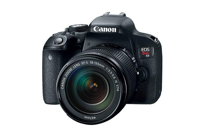 Canon EOS Rebel T7i 18-135 STM DSLR Instant Rebate