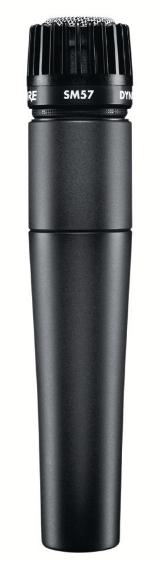 Shure SM57 Series Microphone Instant Rebate.