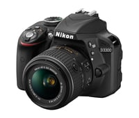Nikon 1532 / 1533 D3300 DSLR Camera with NIKKOR 18-55 mm Lens Instant Rebate