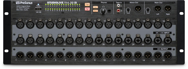 PreSonus StudioLive RM32AI Rackmount Digital Mixer Instant Rebate