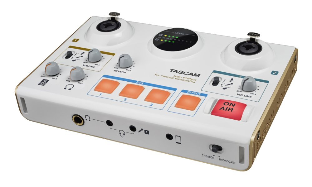 Tascam US-42 Free Microphone And Headphones Offer