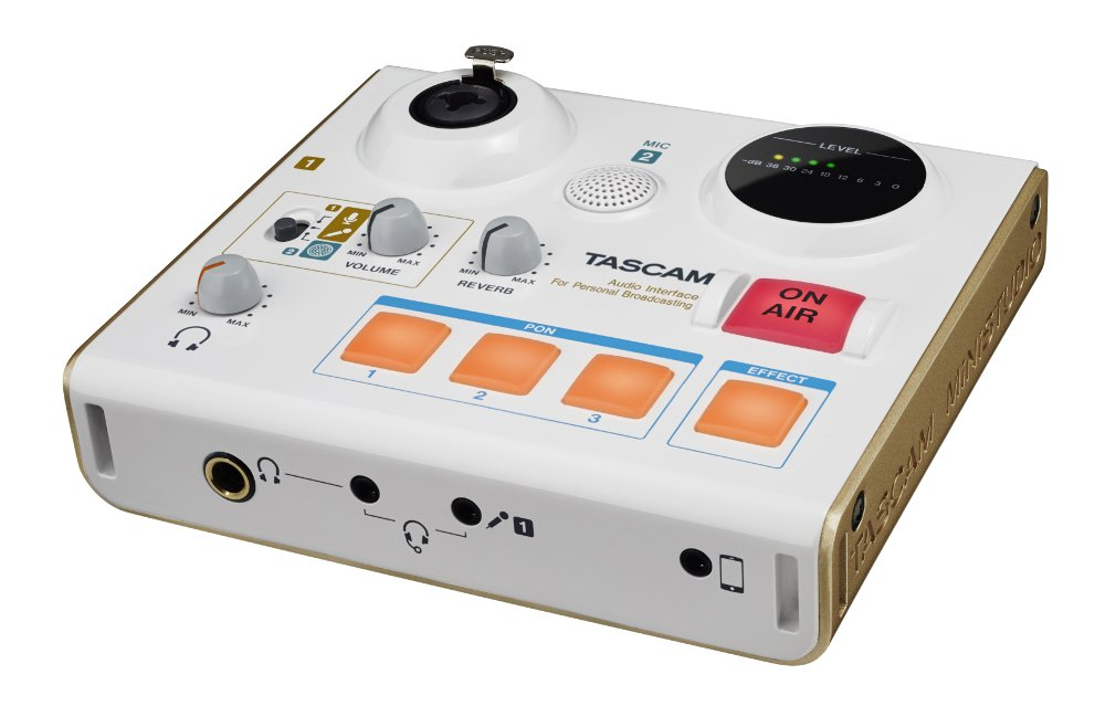 Tascam US-32 Mini Studio Free Headphones Offer