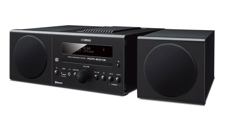 Yamaha MCR-B034BL Bluetooth Music System Instant Rebate
