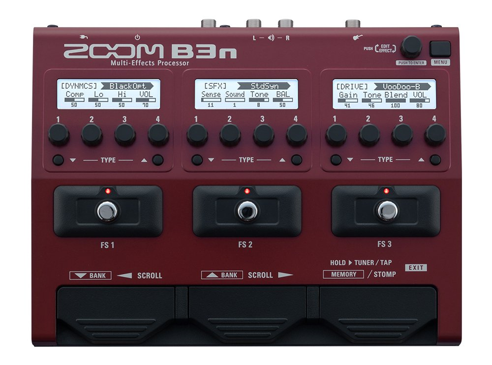 Zoom B3n Multi Effect Bass Pedal Instant Rebate