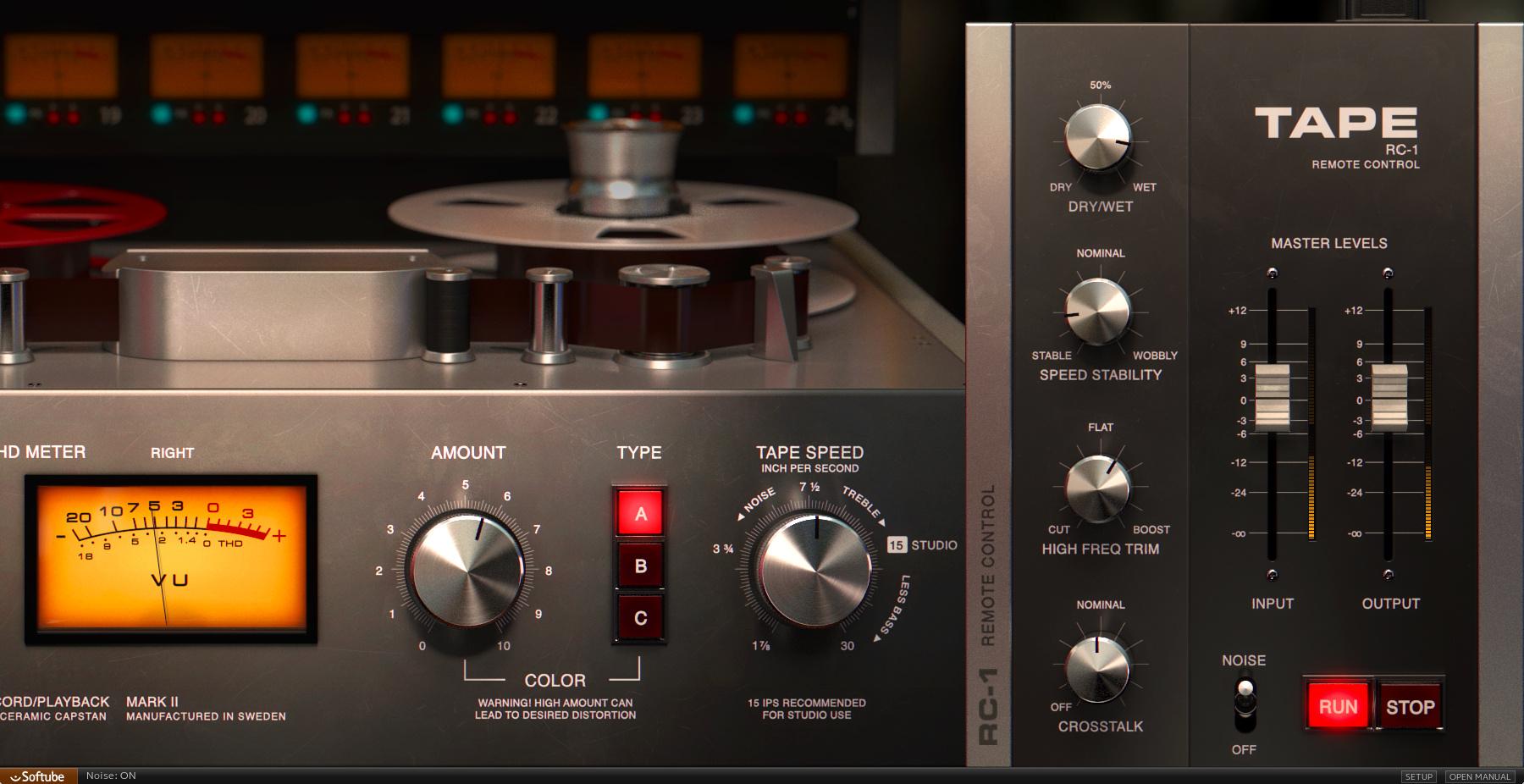 Softube Tape Emulation Plugin Instant Rebate