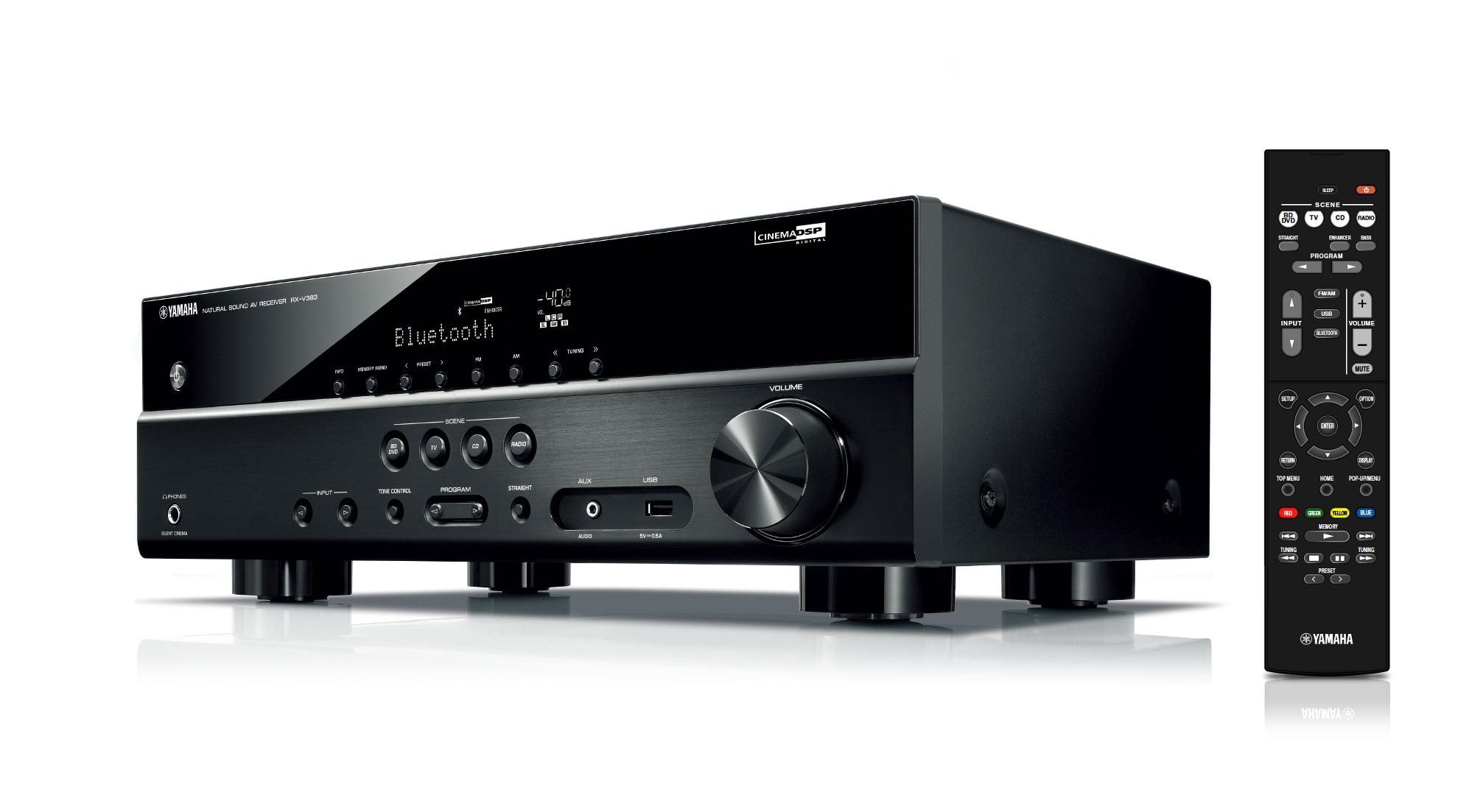 Yamaha RX-V383 5.1-Channel 4K Ultra HD Receiver Instant Rebate