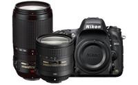 Nikon 13306 D610 DSLR Camera with 24-85 mm & 70-300 mm Lenses Kit Instant Rebate