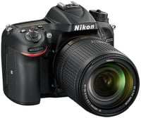 Nikon 1555 D7200 DSLR Camera with 18-140 mm Lens Instant Rebate