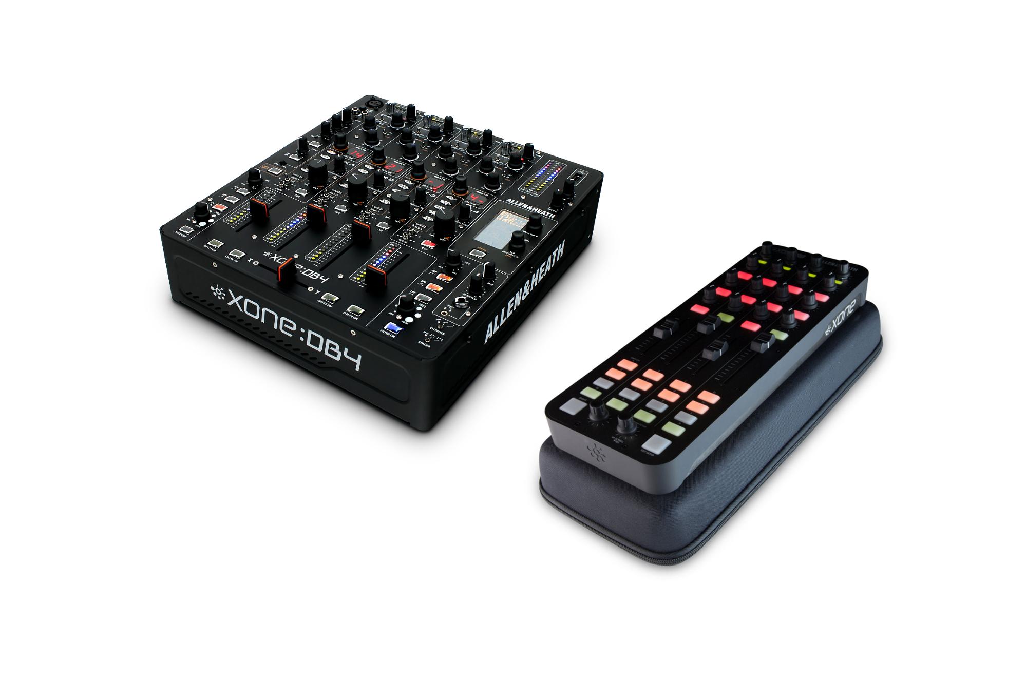 Allen & Heath Xone DB4-PK1-K DJ Mixer / Controller Exclusive Bundle