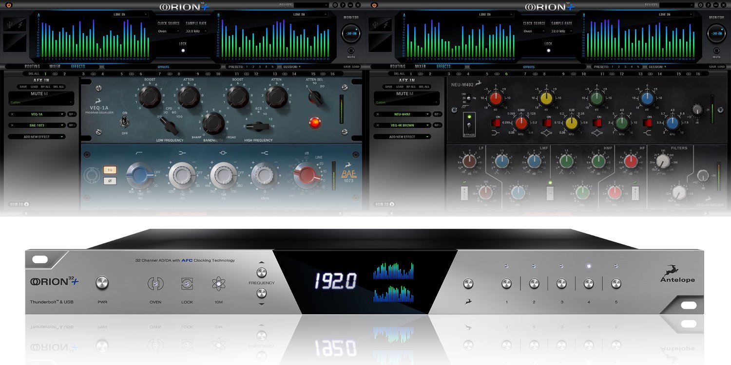 Antelope Audio Orion Free Studio One Artist Offer