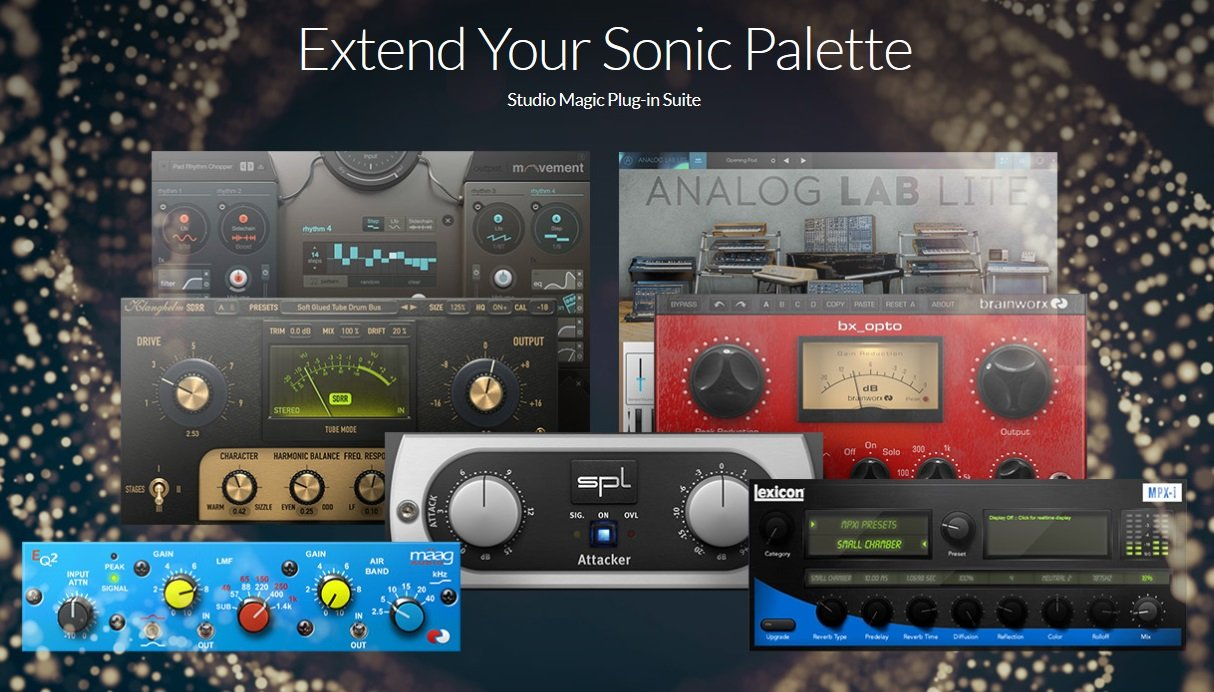 PreSonus Mixer And Interface Free Studio Magic Plugin Bundle Offer