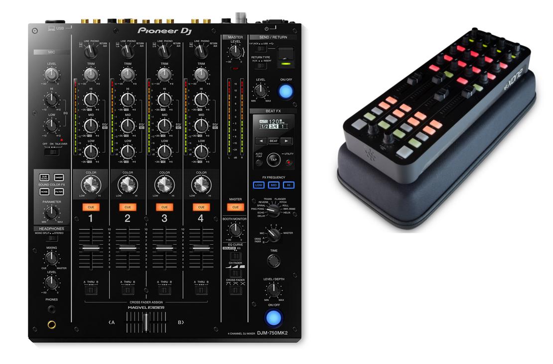 Pioneer DJM750 MK2 DJ  Mixer Exclusive Bundle I