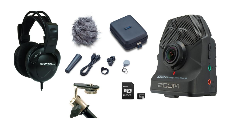 Zoom Q2N Exclusive Production Bundle