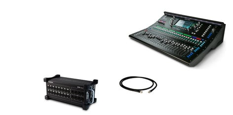 Allen & Heath SQ6 Digital Mixer Exclusive Bundle