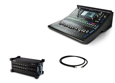 Allen & Heath SQ5 Digital Mixer Exclusive Bundle