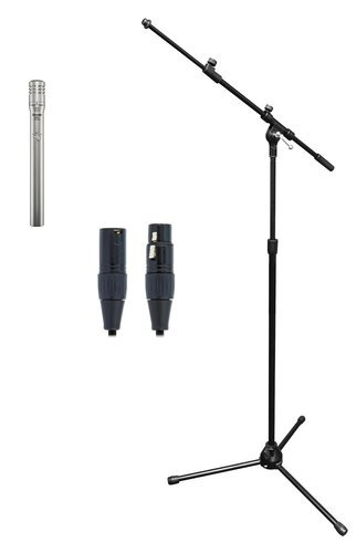 Shure SM81LC Solo Microphone Exclusive Bundle