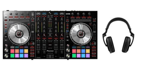 Pioneer DDJ-SX2 DJ Controller Exclusive Bundle
