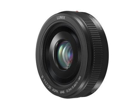 Panasonic H-H020A Lumix G 20 mm Lens Instant Rebate