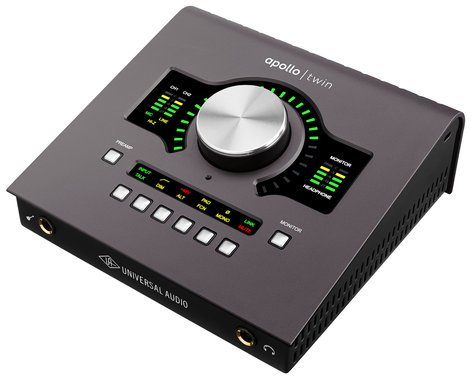 Universal Audio Apollo Twin MKII Quad Manley, Anteres And UA Free Plugins Offer