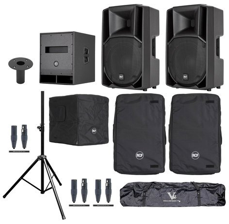 RCF ART-712A-SUB Exclusive Speaker System Bundle
