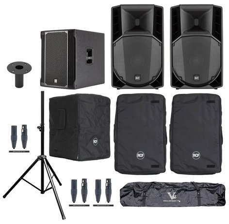 RCF ART-715A-SUB Exclusive Speaker System Bundle