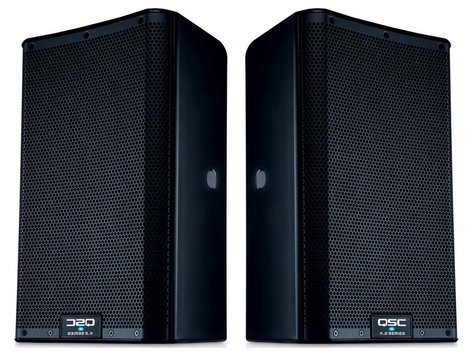 QSC K8.2 Dual K Active Speaker Exclusive Bundle