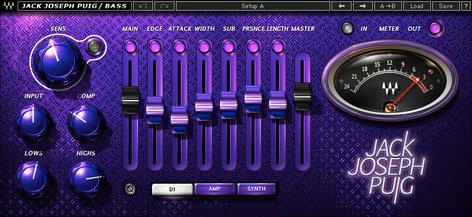 Waves JJP Bass Effects Plugin Instant rebate