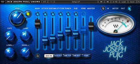 Waves JJP Drums Plugin Instant Rebate