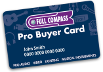Full Compass Pro Buyer Card