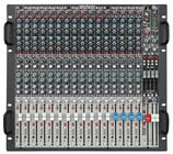 Rack Mixer, 12 Mono x 4 Stereo, 20 Mic Inputs