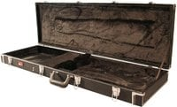 Gator GW-BASS Deluxe Wooden Hardshell Electric Bass Case