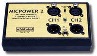 Whirlwind MICPOWER-2  Phantom Power Supply, 48v (MICP2)