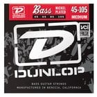 Dunlop DBN45105 Medium Nickel-Plated Steel Bass Strings