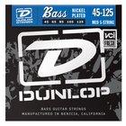Dunlop DBN45125 Medium Nickel Plated Steel 5-String Electric Bass Strings