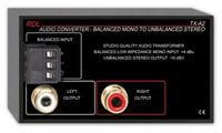 RDL TX-A2  1-Channel Balanced to Unbalanced Audio Converter/Transformer