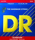 DR Strings NMLR-45 Medium Light Sunbeams Bass Strings
