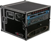 Odyssey FRAR8E  8-Space Amp Rack Case