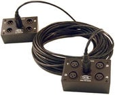 4x XLR-F to RJ45 InstaSnake Adapter Receive Unit