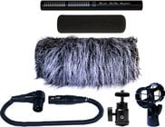 Short Shotgun Microphone Kit for Video Applications