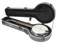 Universal Hardshell 6-String Banjo Flight Case with TSA Latches