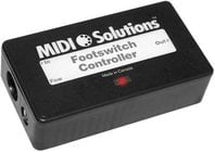 MIDI Solutions FOOTSWITCH Multi-Function MIDI Event Generator