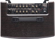 "2-Ch60W 2x6.5"" Stereo Acoustic Guitar Amplifier with DSP & Rosewood Finish"