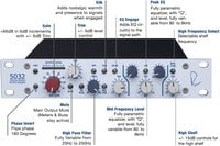Single-Channel Horizontal Mic Preamp/3-Band EQ
