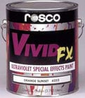 Rosco Laboratories 06257 1 Quart of Violet VividFX Paint