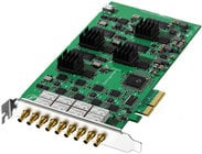Broadcast-Grade PCI Express Video Card with 4x SDI I/O