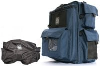 Backpack Camera Case with Quick-Slick Rain Cover