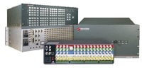 Switcher 32x16, 3Ch Vid, 2Ch Sync, 9RU, Redundant Power