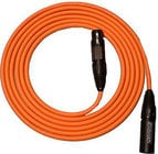 Whirlwind MKQ30-ORANGE Mic Cable, Canare Starquad Low-Z, 30ft MKQ30-ORANGE